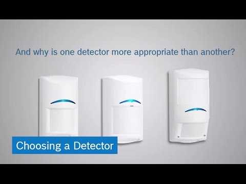 Bosch Intrusion Detectors: Choosing a Detector