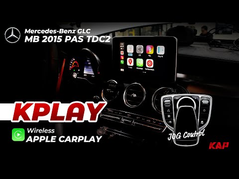 Mercedes-Benz GLC 2019~2020 (NTG 5.5 system) carplay (wirele…