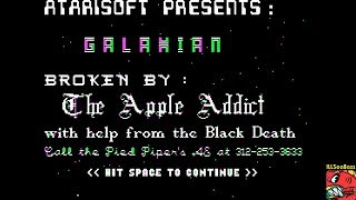 Galaxian [Atarisoft] (Apple II Emulated) by ILLSeaBass
