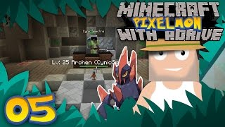Minecraft PIXELMON with aDrive! Ep05 CHALLENGING THE FIRST GYM! - PocketPixels White Let's Play! by aDrive