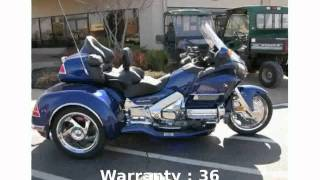 8. 2014 Honda Gold Wing Audio Comfort - Features and Specification