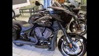 3. 2015 Victory Cross Country 8-Ball Baggers motorcycle