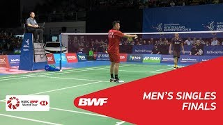 Video MS | LIN Dan (CHN) [1] vs Jonatan CHRISTIE (INA) [2] | BWF 2018 MP3, 3GP, MP4, WEBM, AVI, FLV Maret 2019
