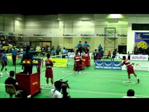 Sepaktakraw Prince cup at Bangkok  (U-20 Regu Event)
