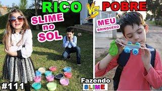 RICO VS POBRE FAZENDO AMOEBA / SLIME #111