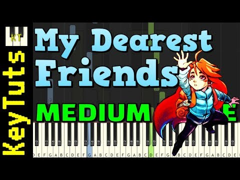 My Dearest Friends from Celeste - Medium Mode [Piano Tutorial] (Synthesia)