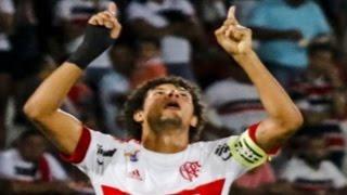 Curtam nossa página: https://www.facebook.com/LeandroSportsVideos Arão faz golaço e comanda vitória do Fla sobre o Santa Cruz no Arruda Chutaço de meia de fo...