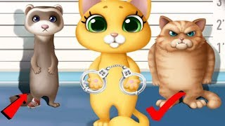 Video Fun Animal Care - Kitty Meow Meow City Heroes - Play Cats to the Rescue Fun Kids Game By TutoTOONS MP3, 3GP, MP4, WEBM, AVI, FLV Desember 2018