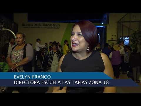 Inauguración del Complejo Comunitario Las Tapias zona 18