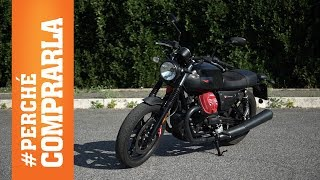Moto Guzzi V7 III Carbon | Perché comprarla... E perché no - Video Test