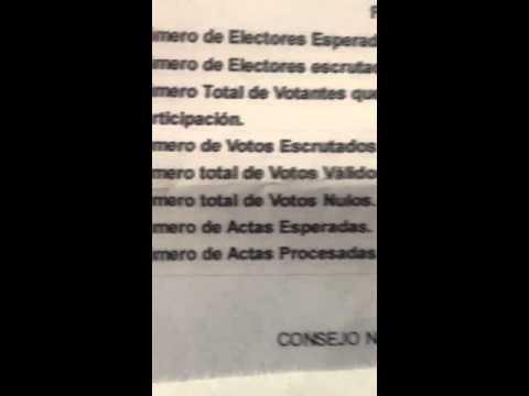 Fraude electoral 2012 venezuela