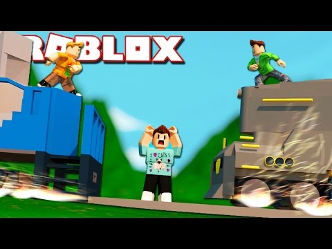 Roblox Adventure - DON'T GET CRUSHED BY THE SUBWAY TRAINS! (Subway Surfers Obby) (видео)