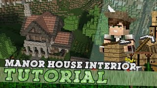 Minecraft Tutorial: Medieval Manor House Interior!
