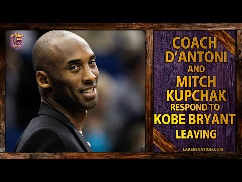 Video: Lakers D'Antoni And Mitch Kupchak Respond To Kobe Bryant Leaving For France
