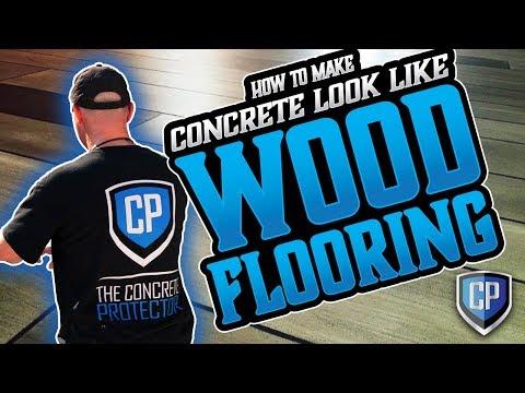 他將地板清理乾淨後又鋪上一層水泥大家都不懂他在幹麼,沒過多久後…大家都「木」瞪口呆!