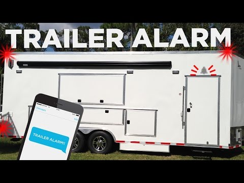 Can your trailer alarm do this our plan for keeping the for Rv workshop