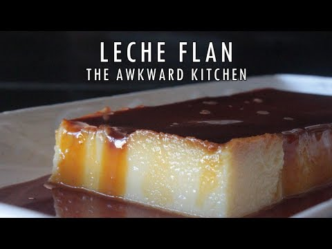 How To Make Leche Flan With All Purpose Cream | The Awkward Kitchen PH