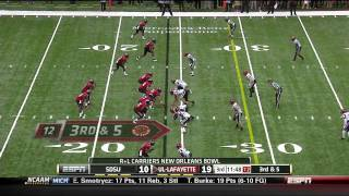 "Ladarius Green vs SDSU 2011 ""New Orleans Bowl"""
