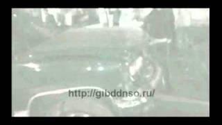 ДТП - МАЗ и Шевроле + остановка транспорта с киоском