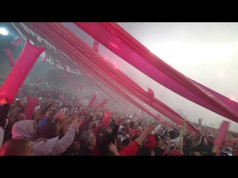 Video - Recibimiento River Final De Libertadores 5/08/2015 - Los Borrachos del Tablón - River Plate - Argentina