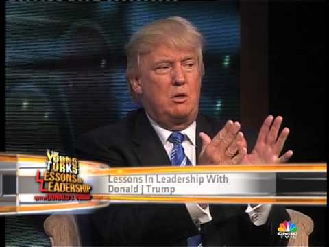 Donald Trump - Donald J Trump in conversation with CNBC TV18's Shereen Bhan.