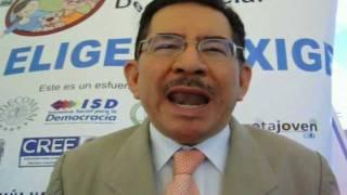 Eugenio Chicas, Presidente TSE, Hace Un Llamado A La Juventud Salvadoreña Para Que Vote El 11/M