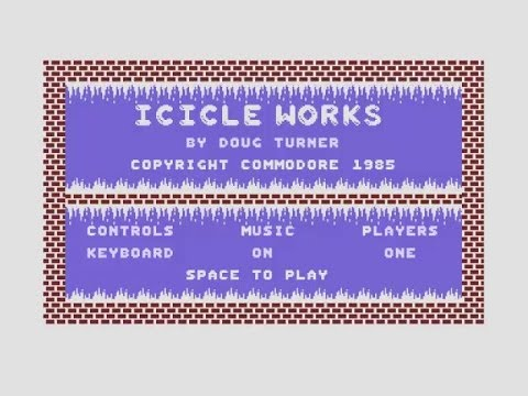Icicle Works Review for the Commodore 16 Plus/4 by John Gage