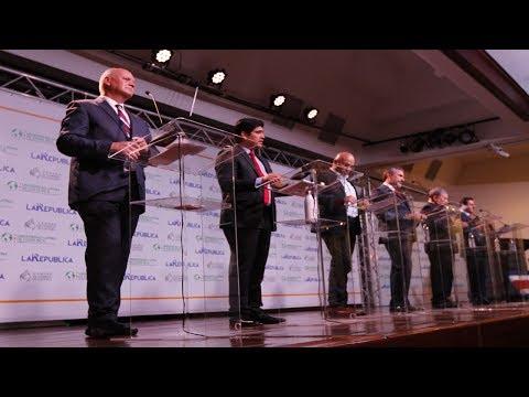 Debate Presidencial. Bloque II: Seguridad