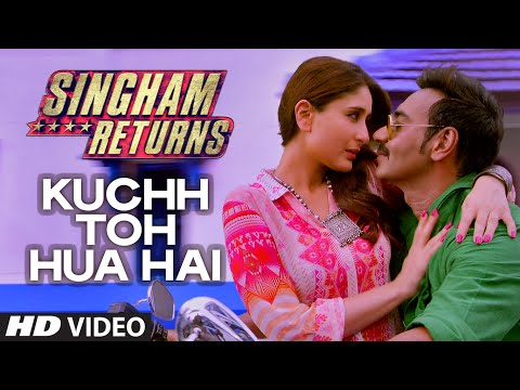 exclusive - T-series presents to you the first song from the movie Singham Returns in the soulful voice of Tulsi Kumar and Ankit Tiwari. Click to share it on Facebook - http://bit.ly/KuchTohHuaHai SONG...