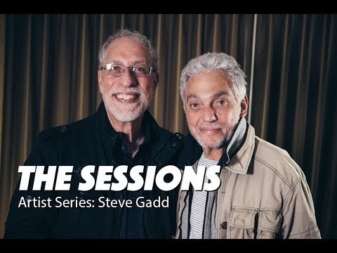 STEVE GADD - World class drummer, on 100's of albums for The Sessions Artist Series