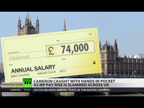 Easy Money? MPs 'can't refuse' pay rise though Cameron slams it
