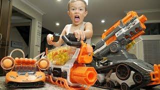 Nerf War: Gun BABY 13!