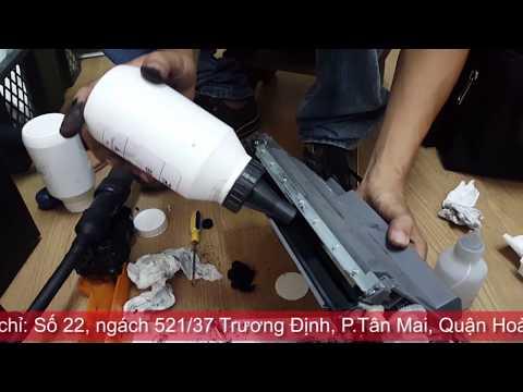 Video hướng dẫn đổ mực máy in brother hl-l5100dn