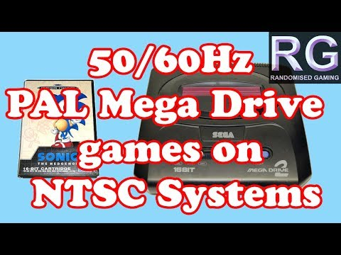 Gaming Knowledge - 50hz PAL Sega Mega Drive Games Run At 60hz On A NTSC Genesis Or Mega Drive
