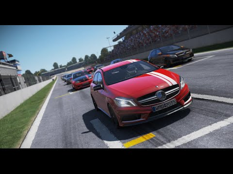 Mercedes Benz A45 AMG - Braçadas e Escorregadas - Project CARS