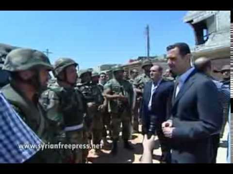 syrian president - President al-‪‎Assad‬ inspects an army unit in ‪‎Daraya‬ Aug 01, 2013 * Defense Minister: No one will be able to break the Syrian army * On its 68th annive...