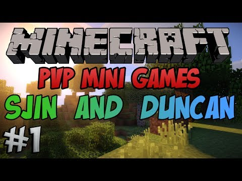 Minecraft - PvP Minigames - Quakecraft With Sjin And Duncan #1