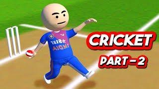 3D ANIM COMEDY - CRICKET WORLD CUP SERIES || LAST OVER || INDIA VS SELECTORS