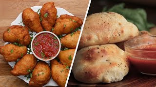 How To Make Crispy & Cheesy Calzones by Tasty