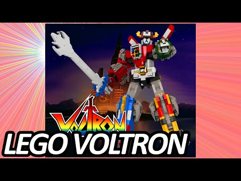 """The Lego Ideas project """"Voltron..."""