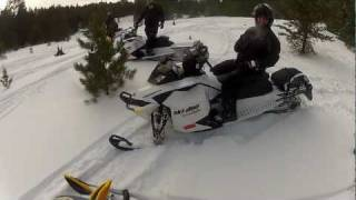 5. 2012 Ski-Doo Freeride 800 R E-TEC   wheelie gone wrong