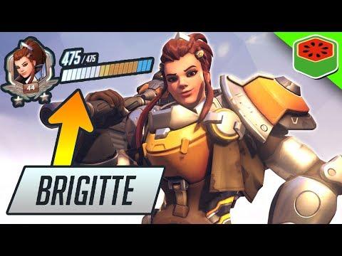 BRIGITTE - MOST OP NEW HERO! | Overwatch Gameplay