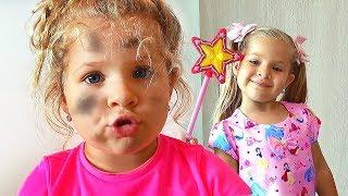 Диана как ЗОЛУШКА / Diana as Cinderella Funny kids story