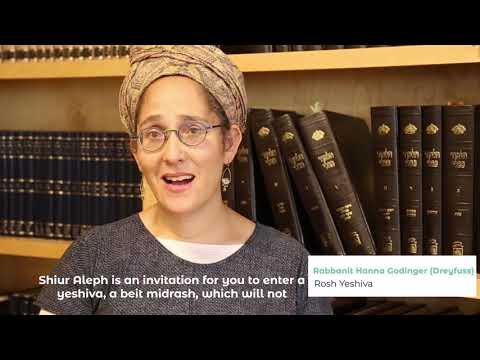 Shana Alef at Yeshivat Drisha - Learn more about this new and exciting program!