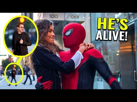 How Tony Stark Is Still Alive Helping Spider-Man