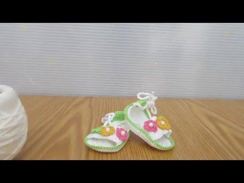 uncinetto - sandaletti per bambina