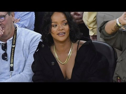 How Rihanna Stole The Show Without Performing At The NBA Finals Game