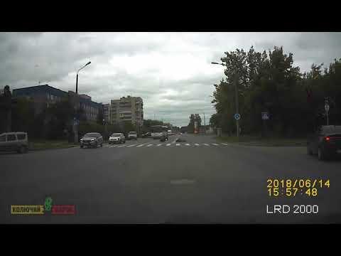 ДТП с мотоциклистом  в Сарове на улице Чапаева