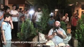 Rreth ligjeratave publike në Çarshi organizuar nga Iniciativa VEPRO - Hoxhë Bekir Halimi