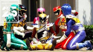 Video Power Rangers | Dino Charge Ranger Defeats! MP3, 3GP, MP4, WEBM, AVI, FLV Januari 2019